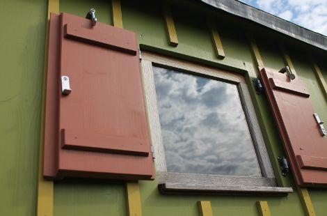 Gartenwagen Fenster
