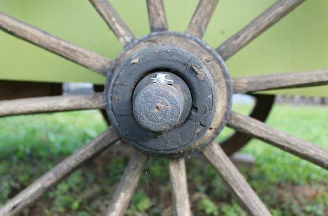 Gartenwagen Rad