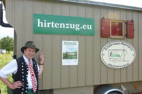 Schäferwagen mit Schäfer Heinrich