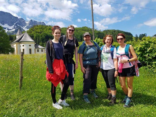 Bergsteiger-Truppe