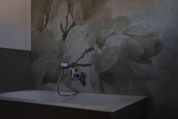 moderne Badezimmertapete