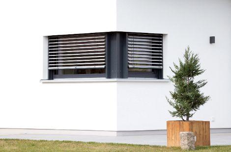 Fenster mit Außenraffstore