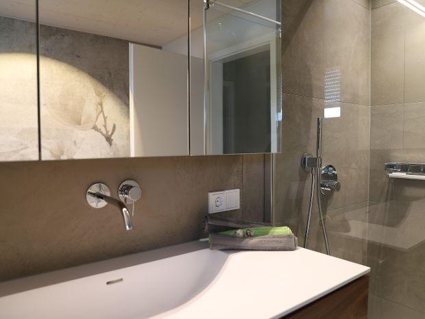 Wasch- und Duschbereich