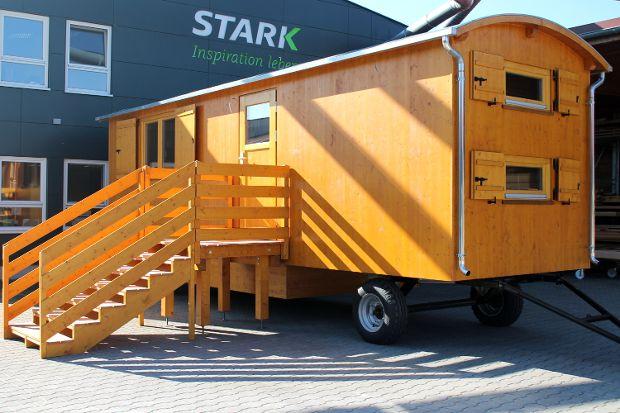 Waldkindergartenwagen mit 2-Achs-Fahrwerk