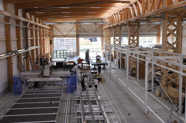 Produktionshalle Hallenschiff 1