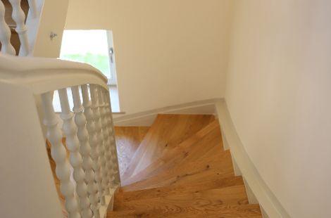 Altbausanierung Treppe nachher