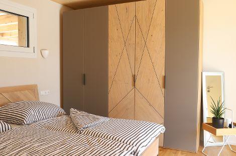 Schlafzimmer AtriumHaus