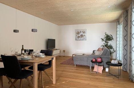 Wohn- und Essbereich AtriumHaus