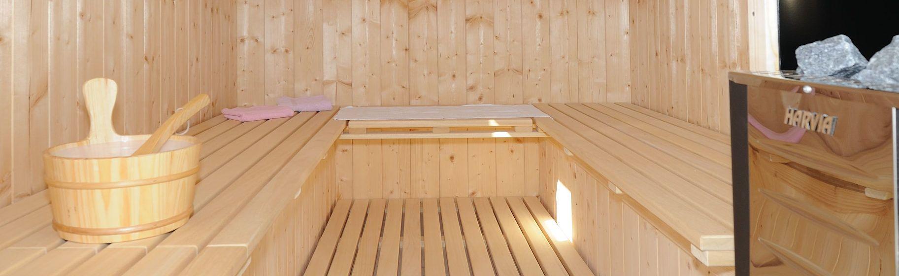 Sauna im Innenbereich